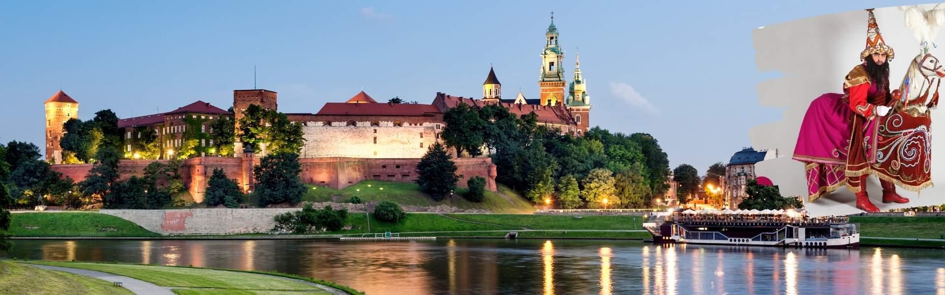 Zamek Królewski i Lajkonik Krakow