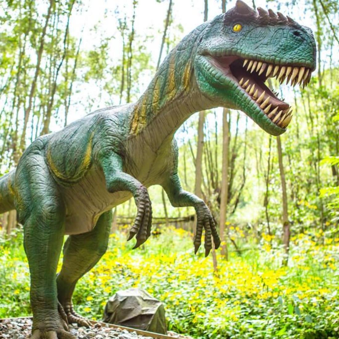 zatorland dinozaury wycieczka szkolna